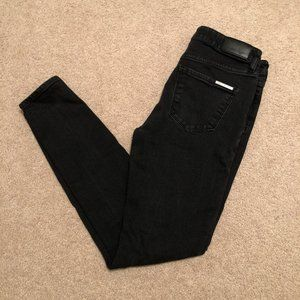 Armani Exchange Skinny Black Jeans